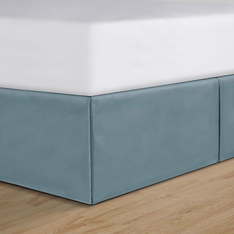 Luanna 8-Piece Blue Comforter Set, Queen