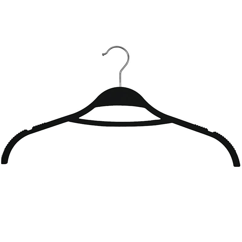 Non Slip Grey 12-Piece Shirt Hanger