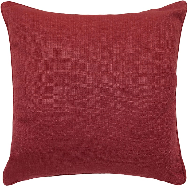 Dynasty Ruby Pintuck Pillow 20X20