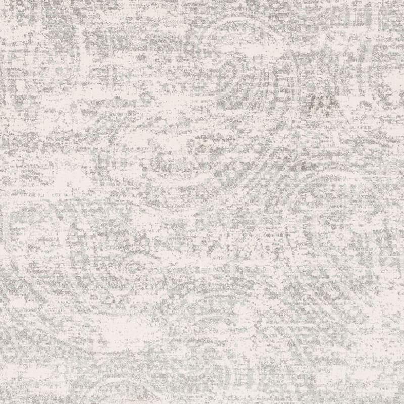 (A252) Willow Microfiber Grey Area Rug, 8x10