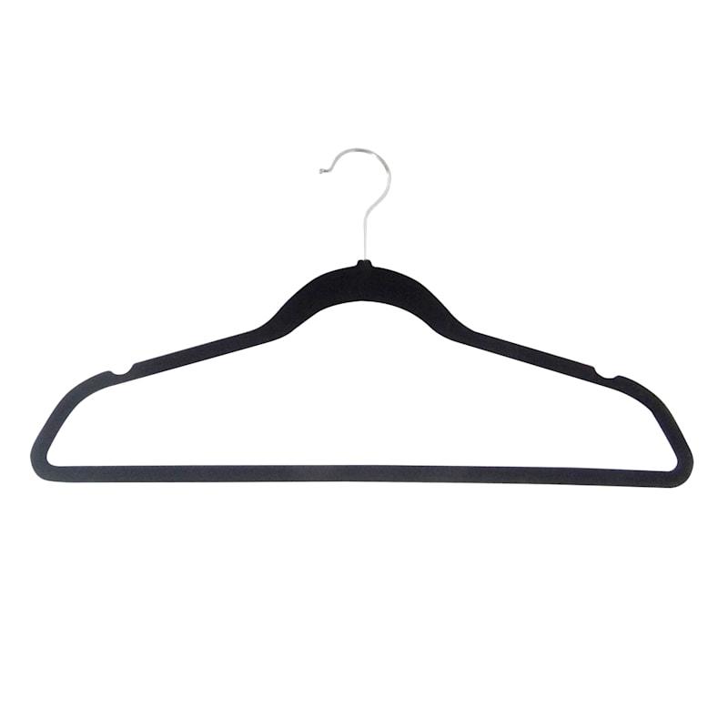 Velvet Black 25-Piece Suit Hanger