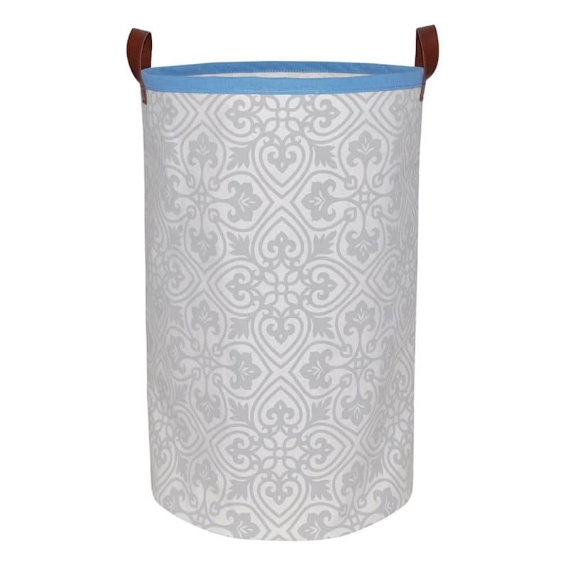 Round Tile Fabric Hamper M