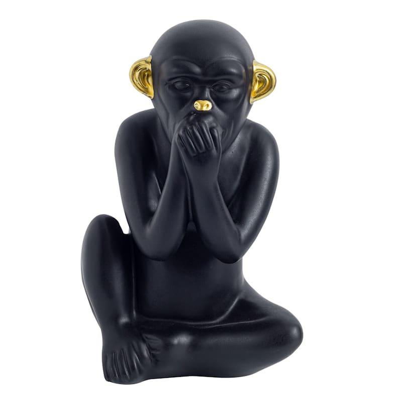 8.75In Matte Black Monkey