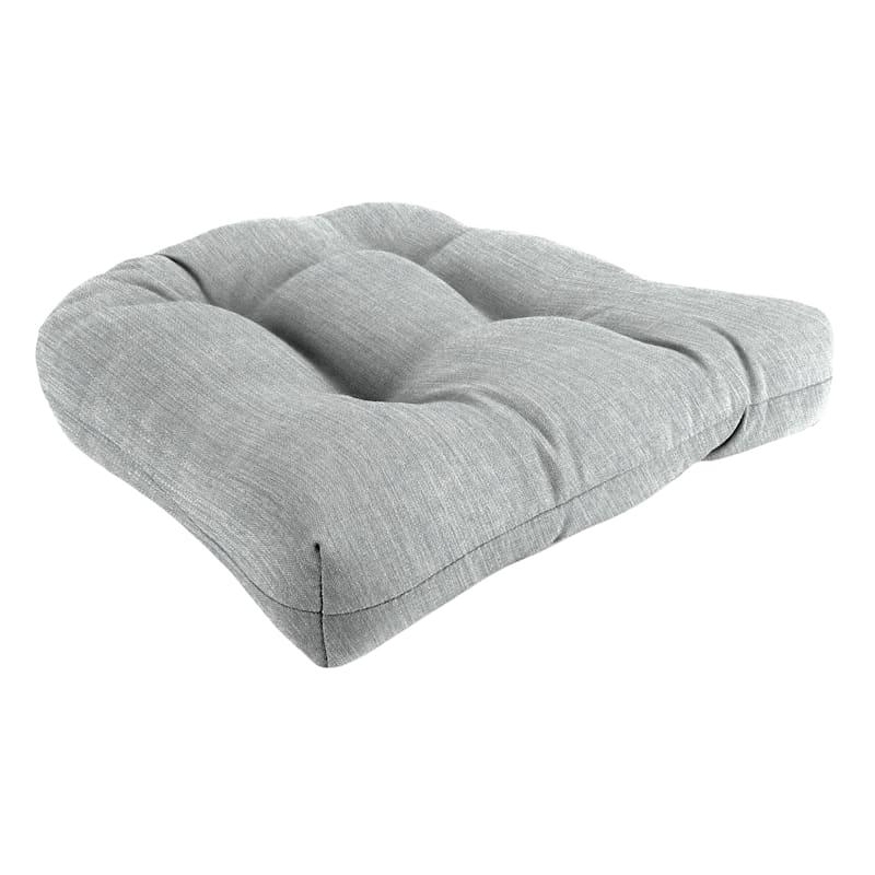 Tahiti Silver Outdoor Wicker Seat Cushion