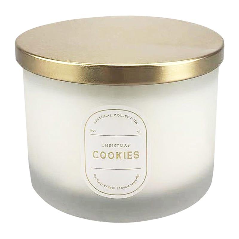 Christmas Cookies 3 Wick Candle, 16oz